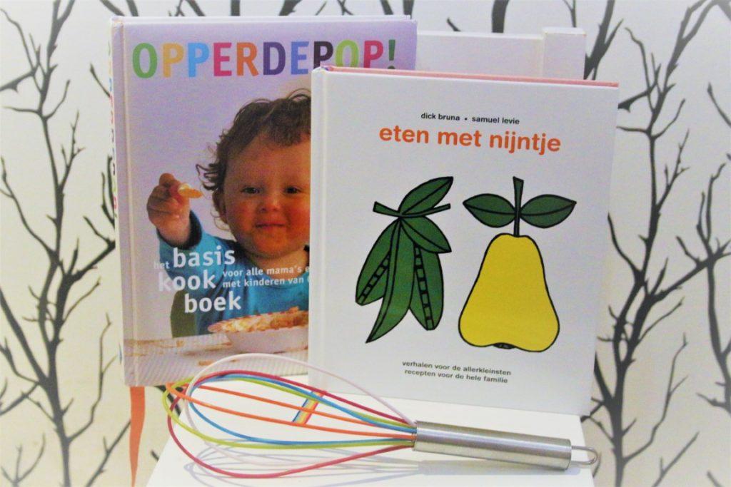 Leuke baby kookboeken voor kinderen van 0-4 jaar