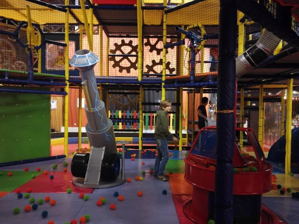 Indoorspeeltuin Park Eifel Center Parcs met kinderen