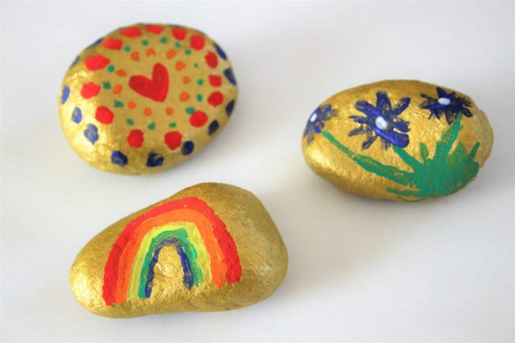Stenen verven met acrylverf doe je zo