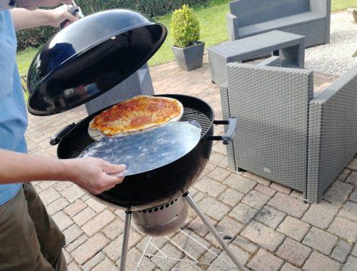 Weber bbq pizza Barbecue recept