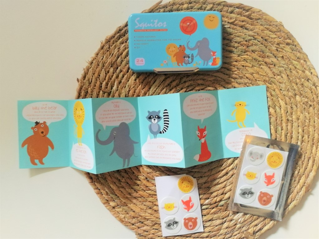Review Squitos Anti Muggen Pleisters Stickers