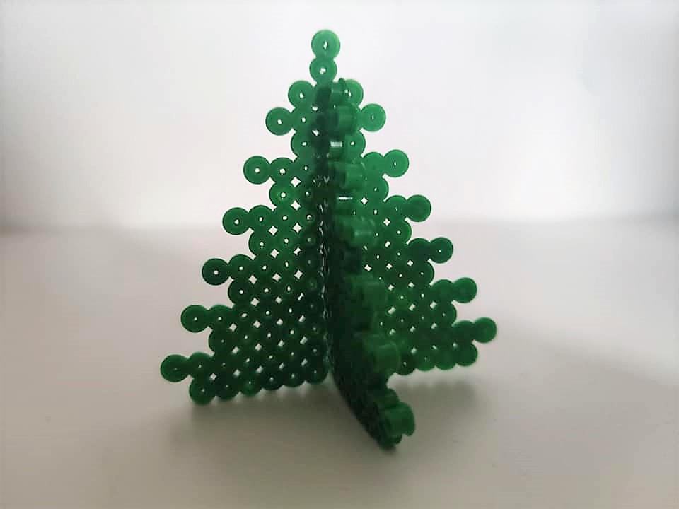 Kerstboom strijkkralen 3D