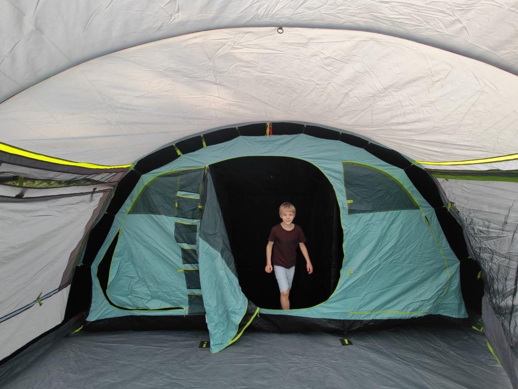 Coleman tent Meadowood 6L met blackout rooms review en ervaring