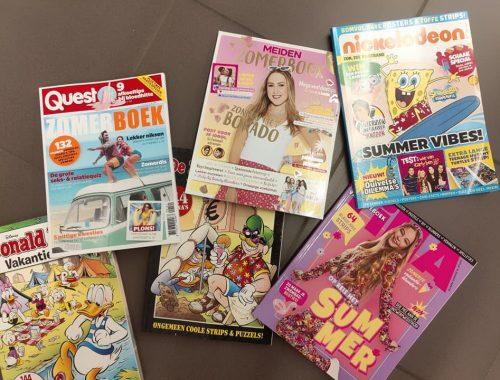 Vakantieboeken en doeboeken voor tieners