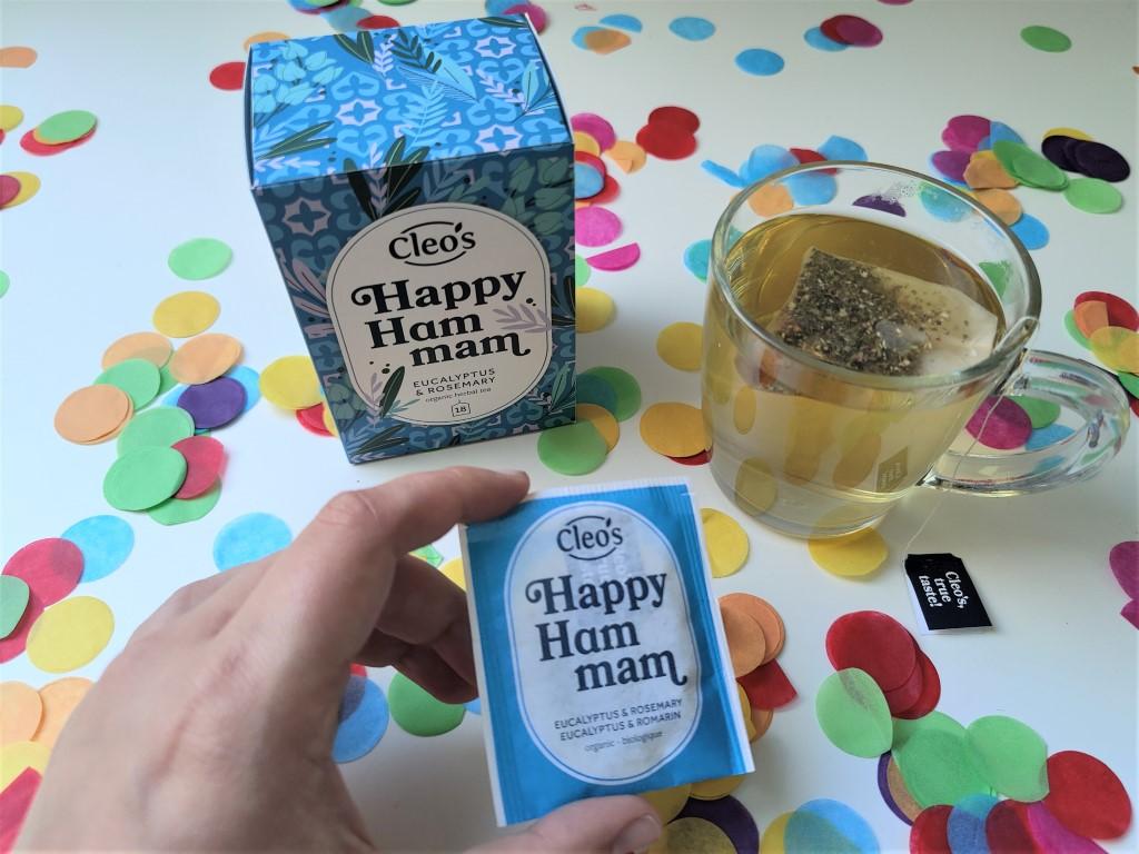 Cleos Happy Hammam Thee - Review Ervaringen - Jouwbox Zomer 2021