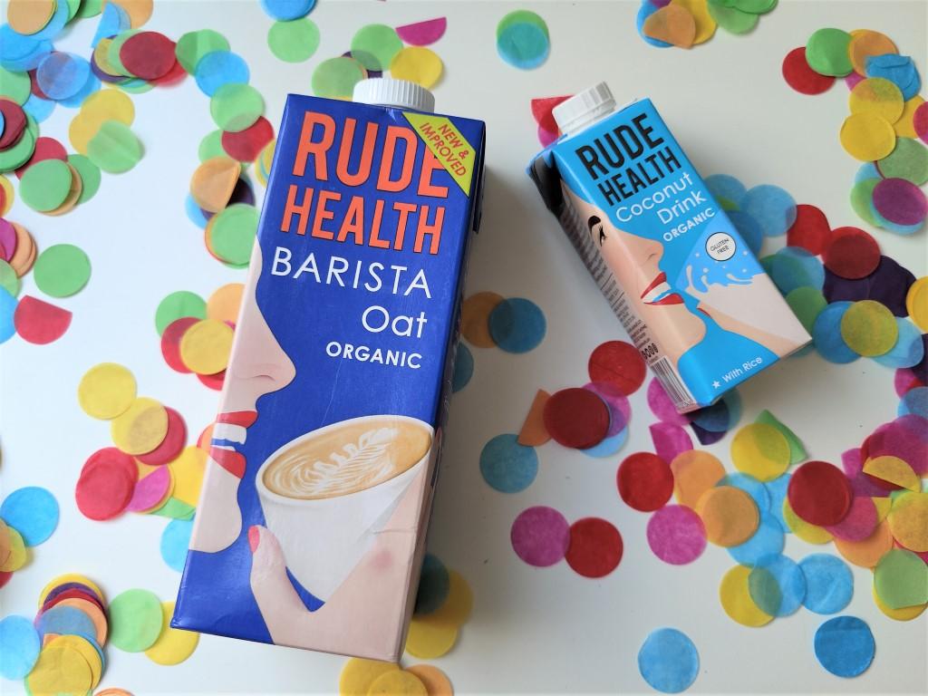 Rude Health kokosdrink en barista oat - Review Ervaringen Blog Jouwbox 2021