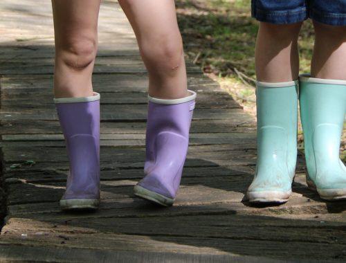 Duurzame regenlaarzen voor kinderen