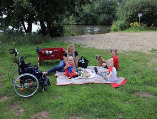 slecht ter been - met rolstoel naar vakantiepark
