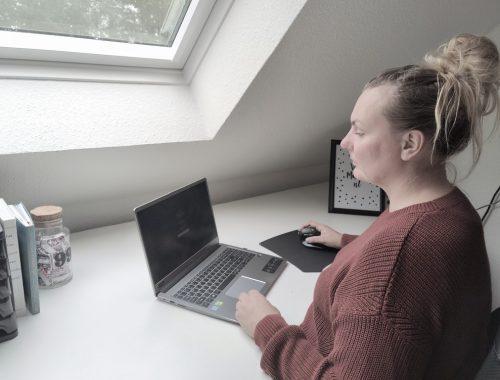 Ergonomische thuiswerkplek tips - Muis Trust Bayo Review Winactie Blog