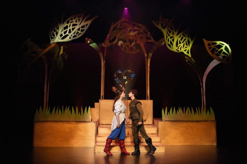 Sneeuwwitje voorstelling theater terra musical 2021